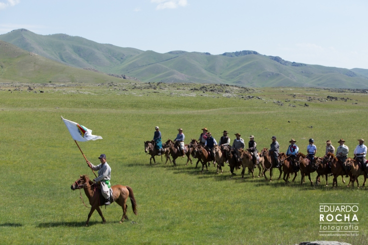 Cavaleiros da Paz - Mongólia 2014